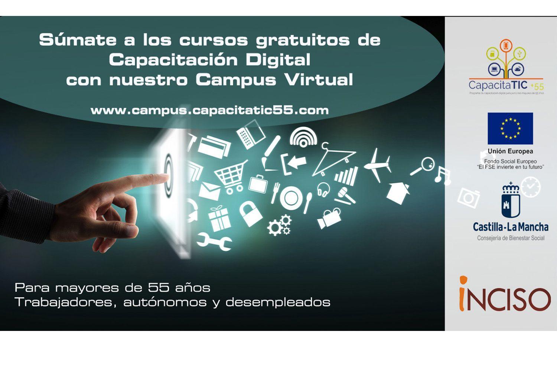 Sumate A Nuestros Cursos Gratuitos A Traves De Nuestro Campus Virtual Capacitatic 55 Programa De Capacitation Digital Para Personas Mayores De 55 Anos
