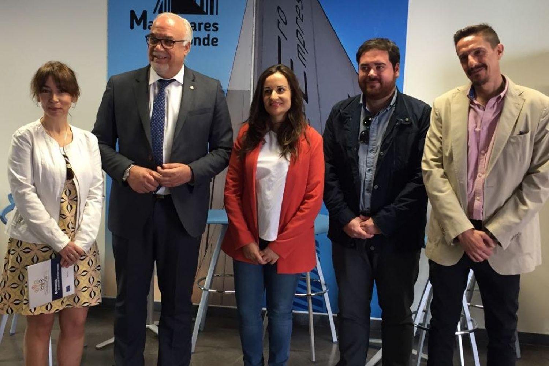 Eugenia Fernández, Julián Nieva, Prado Zúñiga, Pablo Camacho y José Miguel Pérez Taboada.